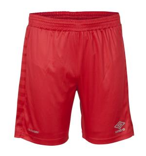 UMBRO Sublime Shorts jr Rød 128 Sublimert teknisk spillershorts